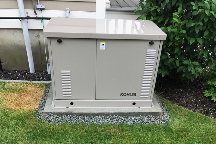 Pow'r Point Generator Standby Generator Installation Example